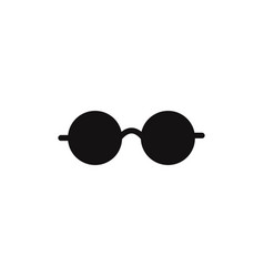 eyeglasses icon vector image