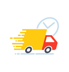 Fast shipping icon vector