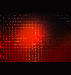 Red brown black spiral rounded mosaic background vector