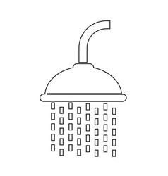 showerhead icon vector image