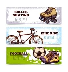 Summer Sport Banners vector