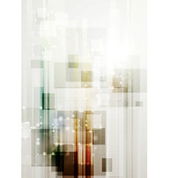 Modern hi-tech template vector image vector image