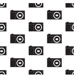 camera seamless vector image