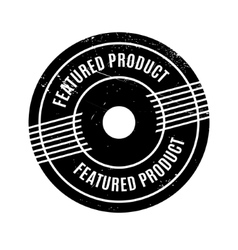 Featured Product rubber stamp vector image