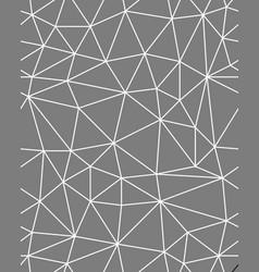 Seamless polygonal pattern vector