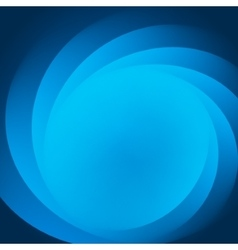 Smooth light blue waves lines abstract vector image