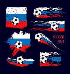 soccer championship 2018 abstract backgrounds vector image