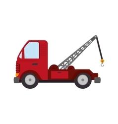 Town truck car vector