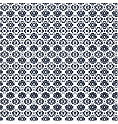 Tribal background aztec pattern in black vector