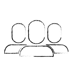 Users pictogram community icon image vector