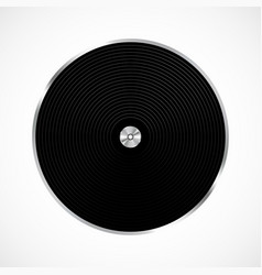 vinyl record isolated vector image