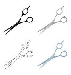 hair clippersbarbershop single icon in cartoon vector image vector image