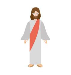 jesus christ christianity image vector image