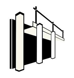 Formwork vector image