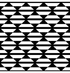 Abstract White Black Square Pattern vector