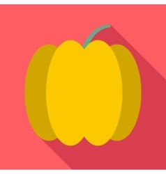 Bell pepper icon flat style vector