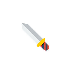 flat icon sword element of vector image