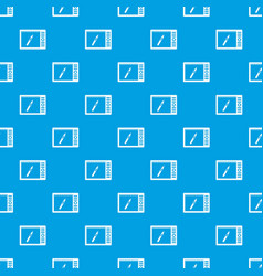 graphics tablet pattern seamless blue vector image