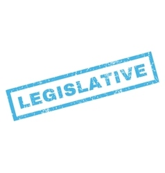 Legislative Rubber Stamp vector
