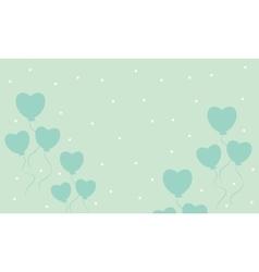 Love balloon backgrounds art vector