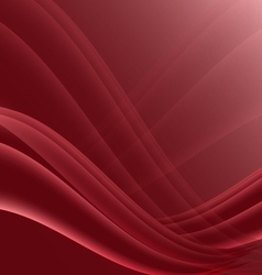Red and black waves modern futuristic abstract vector
