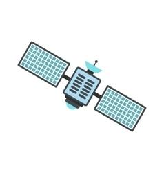 Satellite flat icon vector