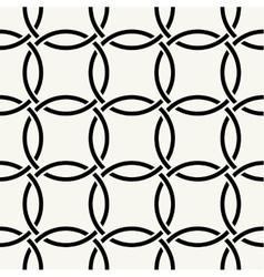 Seamless intertwining cordage vector image