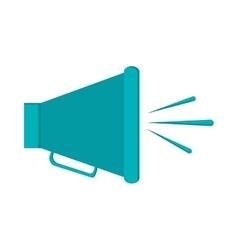 single megaphone icon vector image