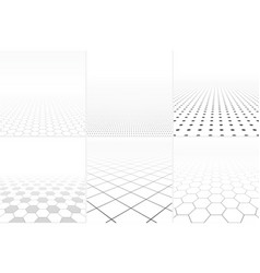 collection of abstract white backgrounds vector image