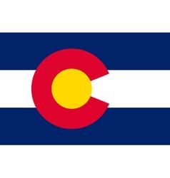 Coloradan state flag vector