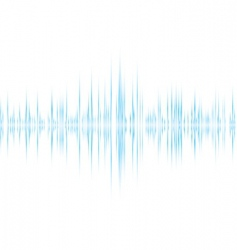music wave background vector image