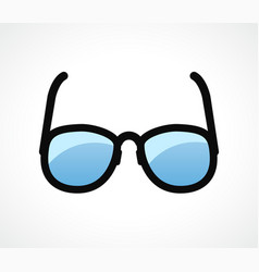 eye glasses design clipart vector image
