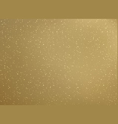 gold background with golden glitter texture vector image