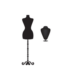 mannequin silhouette vector image