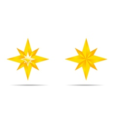 Pair of Stars vector image
