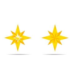 Pair of Stars vector image
