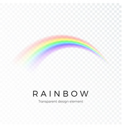 rainbow fantasy art design spectrum light vector image