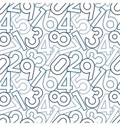 Seamless digital pattern vector image