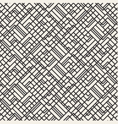 seamless geometric pattern irregular tiles grid vector image