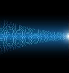 Technology abstract future innovation binary vector