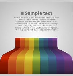 colour abstract background vector image vector image
