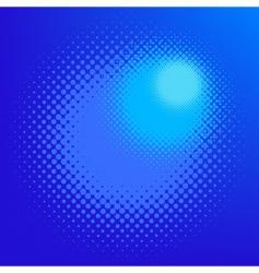 halftone effect vector image vector image