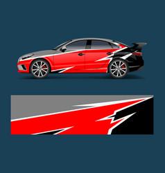 Car decal graphic wrap vinyl sticker graphic vector