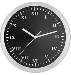 Classic wall clock template vector