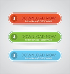 Download Now Buttons vector