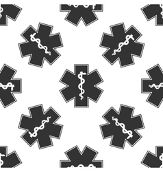 Medical symbol of the Emergency vector