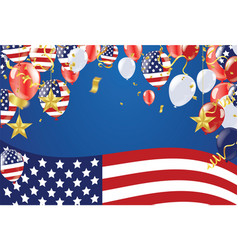 memorial day sale happy memorial day background vector image
