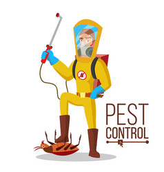 Pest control service sanitation cleaner vector