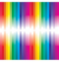 rainbow abstract vector image