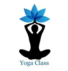 yoga lotus icon vector image